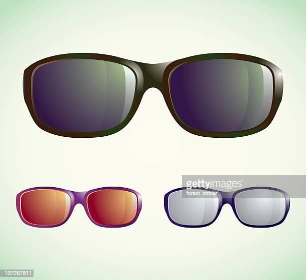 サングラス - サングラス 無人点のイラスト素材/クリップアート素材/マンガ素材/アイコン素材
