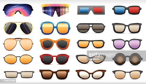 sunglasses - funky stock illustrations