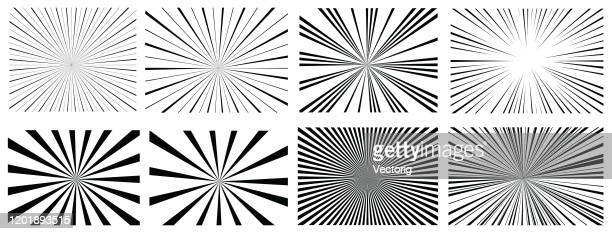 sunlight stripes - glühend stock-grafiken, -clipart, -cartoons und -symbole