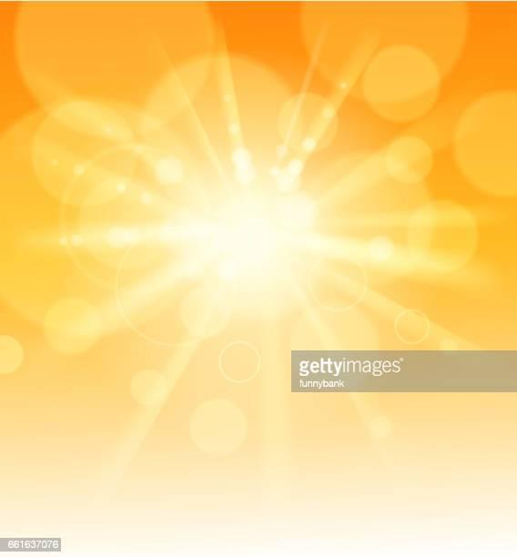 sunlight - heat stock illustrations, clip art, cartoons, & icons