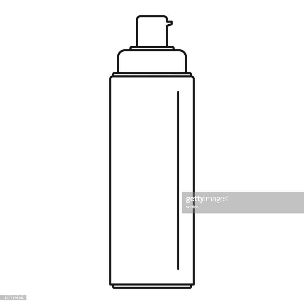 Sunscreen lotion icon, outline style