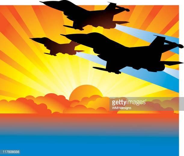 Sunset Jets
