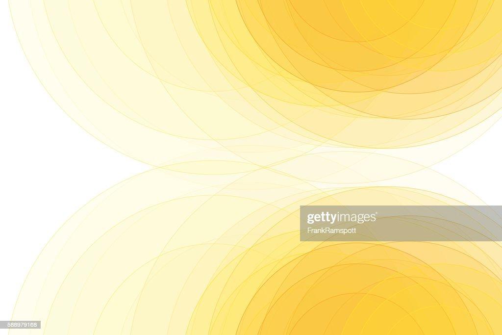 Sunshine Semi Circle Background Horizontal : stock illustration