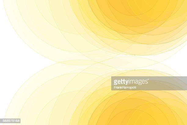 Sunshine Semi Circle Background Horizontal