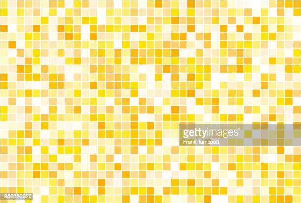 Sonne Quadrat Vector Art Muster Horizontal