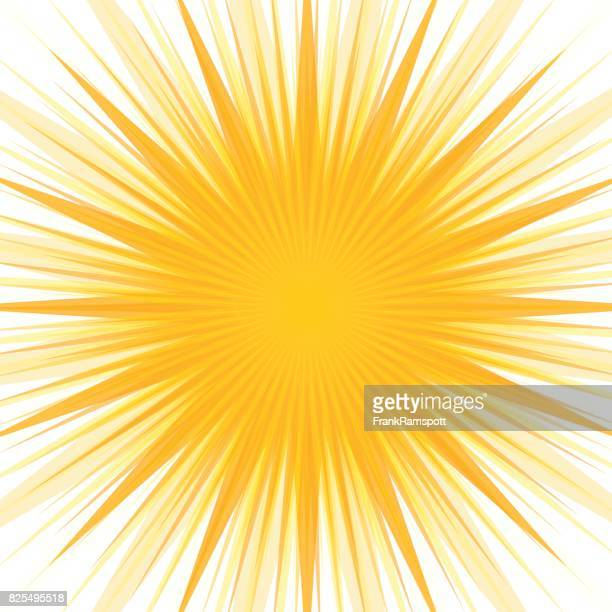 ilustraciones, imágenes clip art, dibujos animados e iconos de stock de starburst sol concéntricos vector patrón - frank ramspott