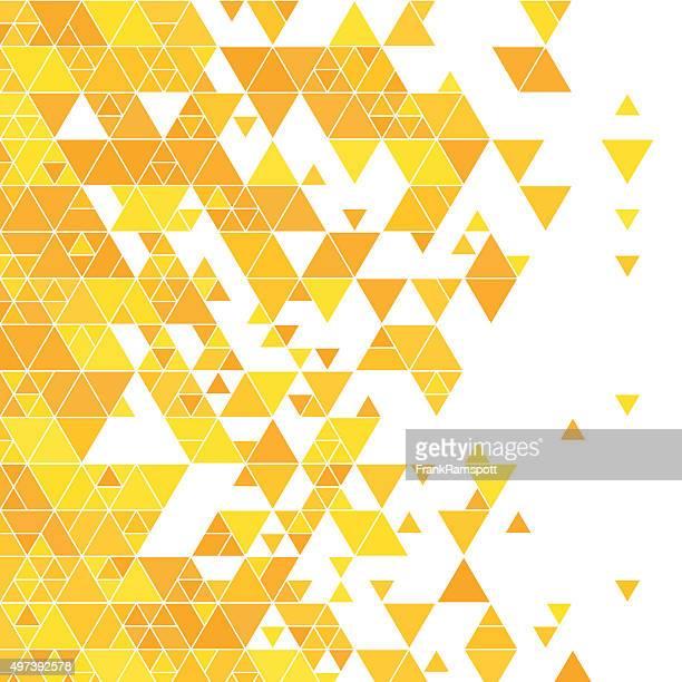Sunshine Triangle Design Background Square
