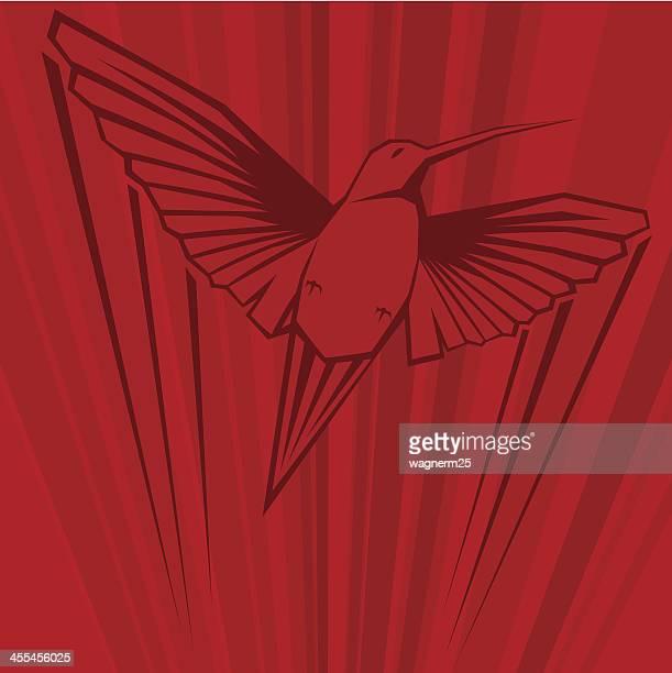 Super fast hummingbird