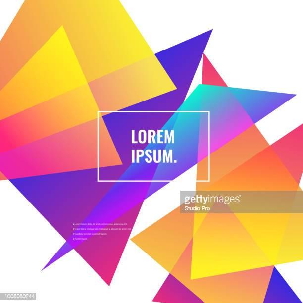 super gradient geometric background - sharp stock illustrations, clip art, cartoons, & icons