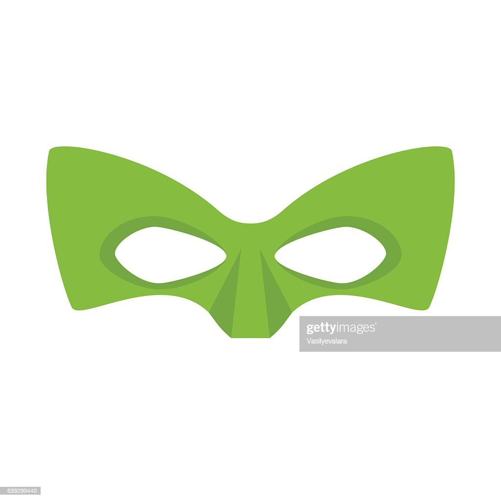 Super hero green mask