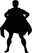 Super Hero Silhouette
