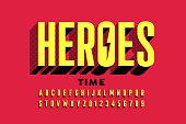 Super Hero style comics font
