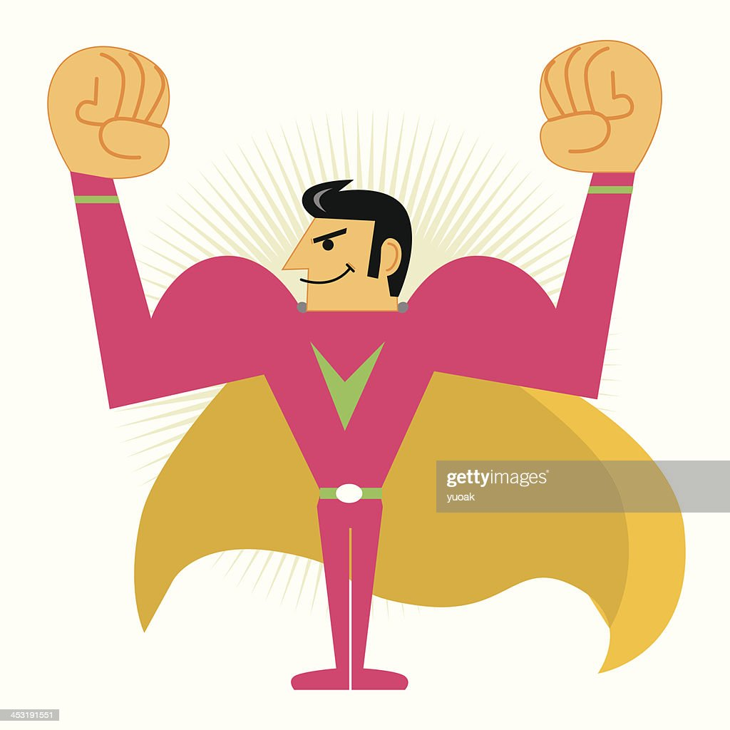 Super Hero : stock illustration