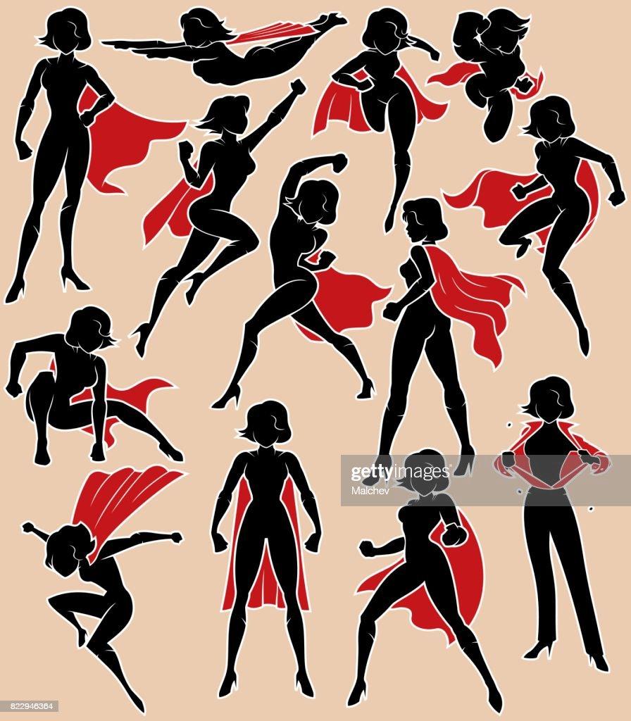 Super Heroine in Action