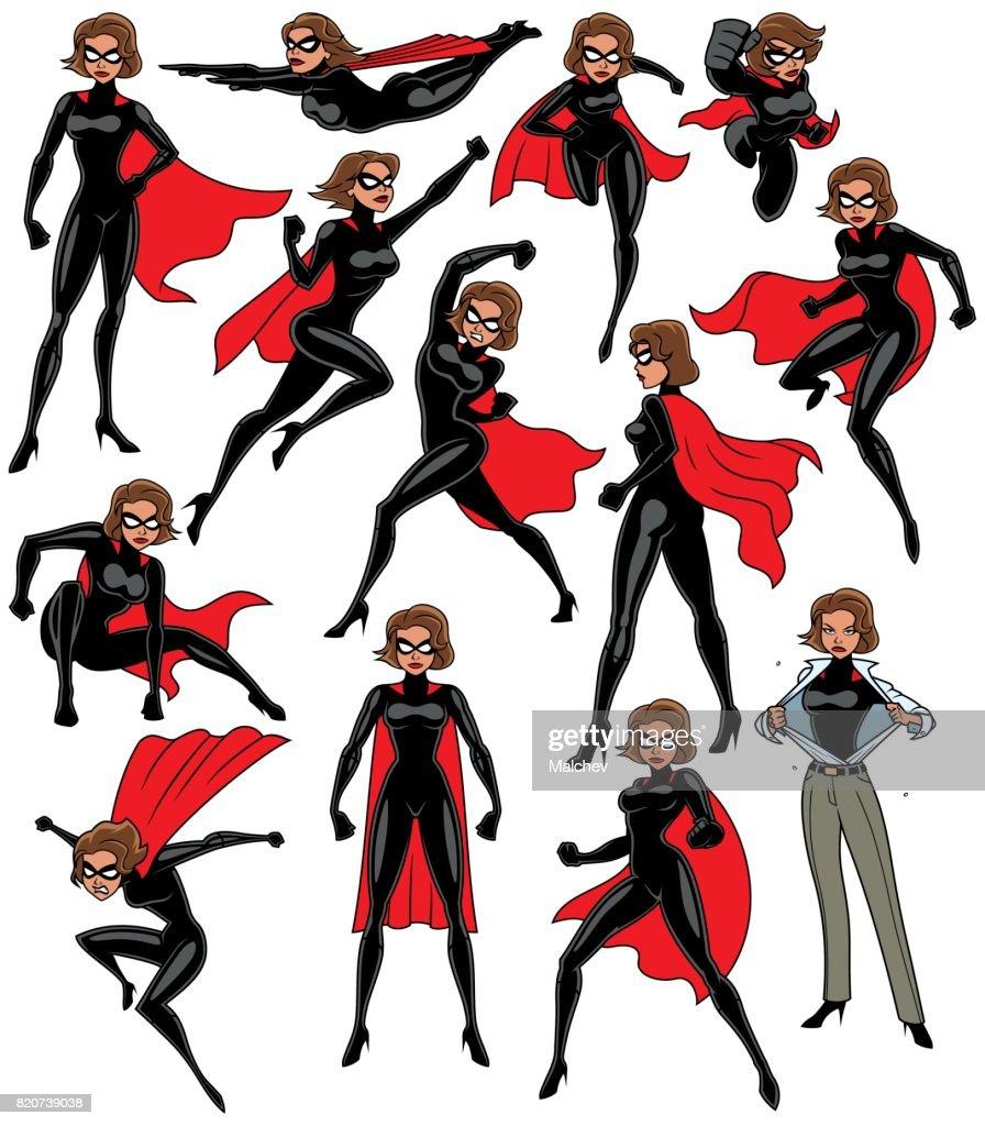 Super Heroine Set