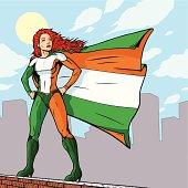 Super Irish Girl