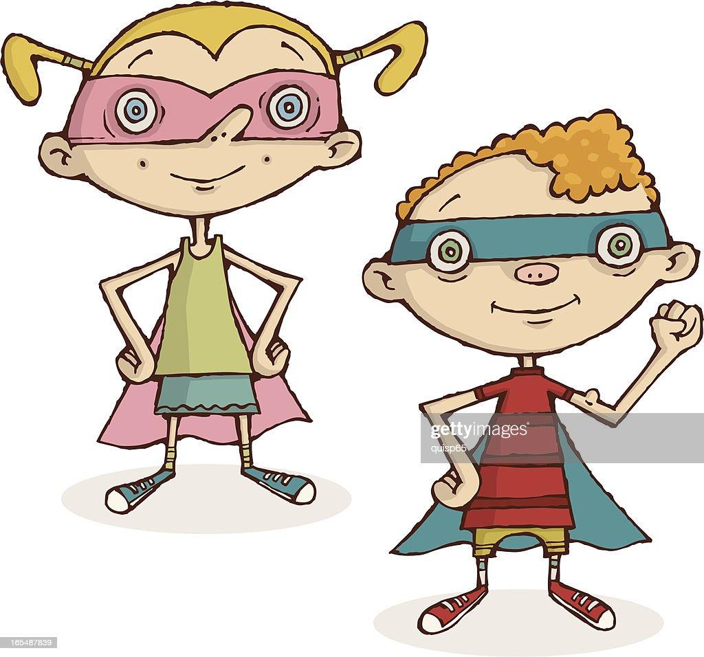 Super Kids Vector Art   Getty Images