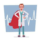 Super male doctor