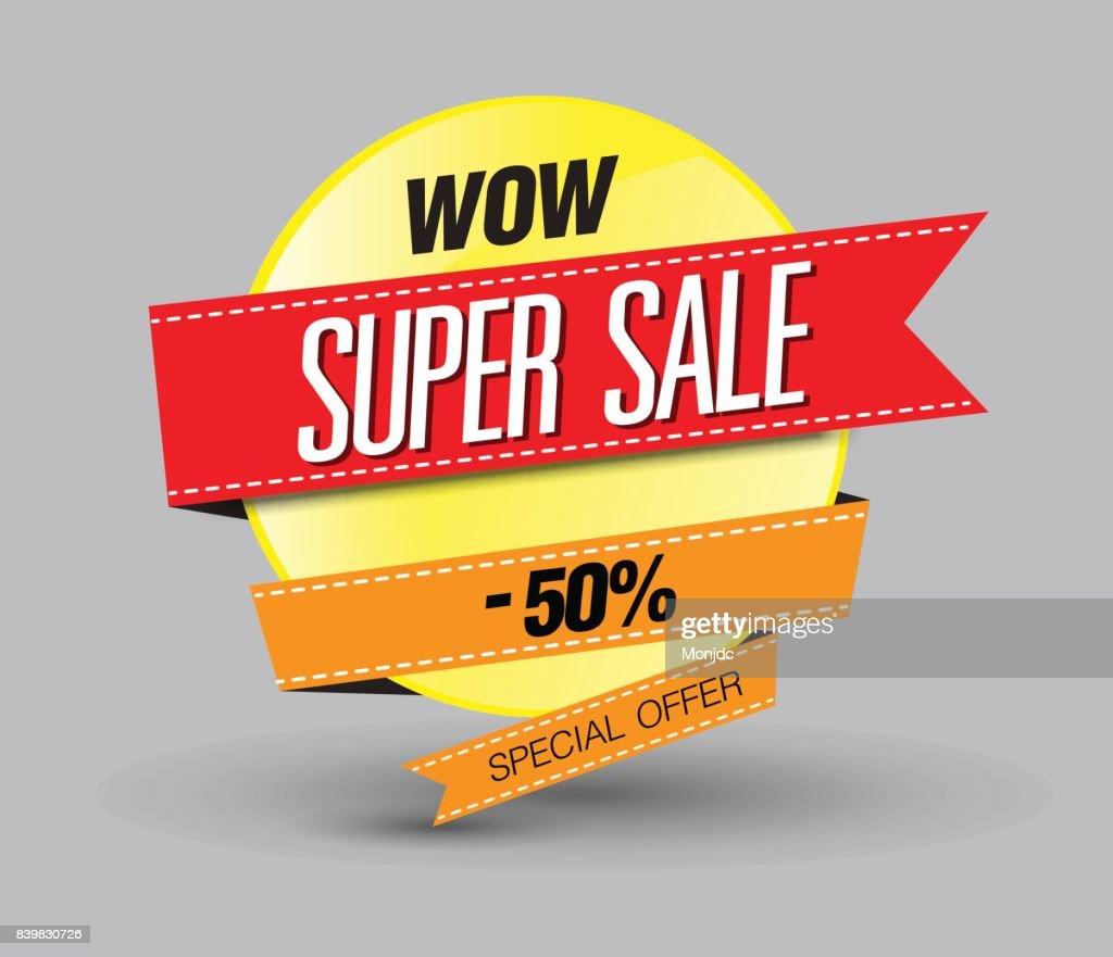 29e8e2d9a90cdb Super Sale Poster Banner 50 Big Sale Räumungsverkauf Vektor ...