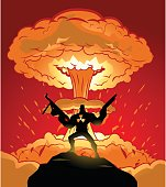 Super Soldier and Nuclear Explosion