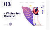 super star singing song website landing