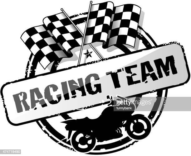 ilustraciones, imágenes clip art, dibujos animados e iconos de stock de etiqueta de superbike - campeonato deportivo