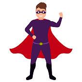 Superdad cartoon character