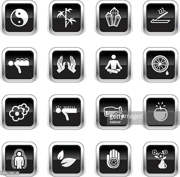 Supergloss Black Icons - Alternative Medicine