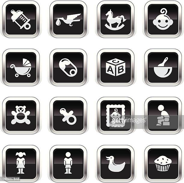 Supergloss Black Icons - Baby