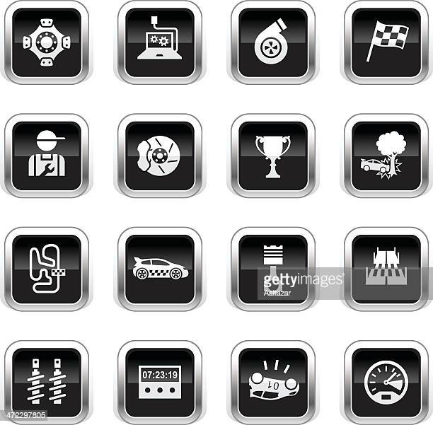 Supergloss Black Icons - Rally