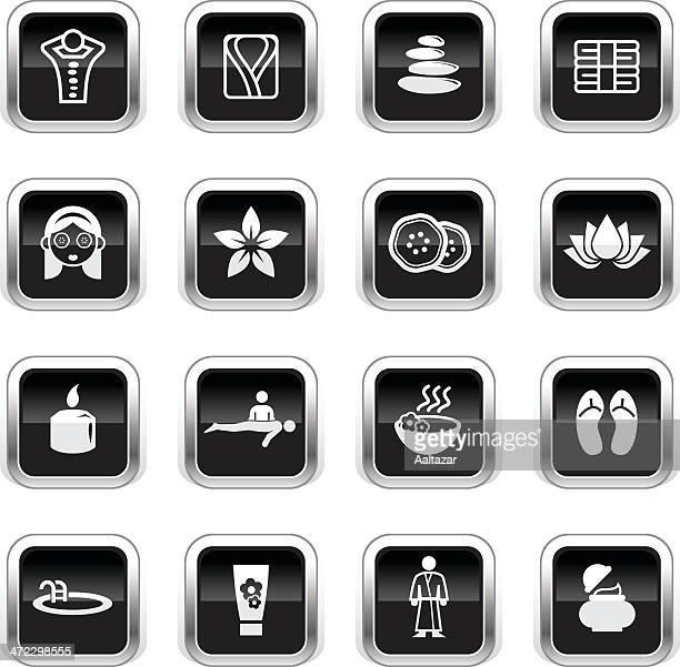 Supergloss Black Icons - Spa & Wellness