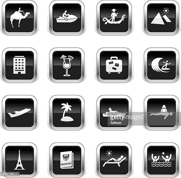 Supergloss Black Icons - Vacation