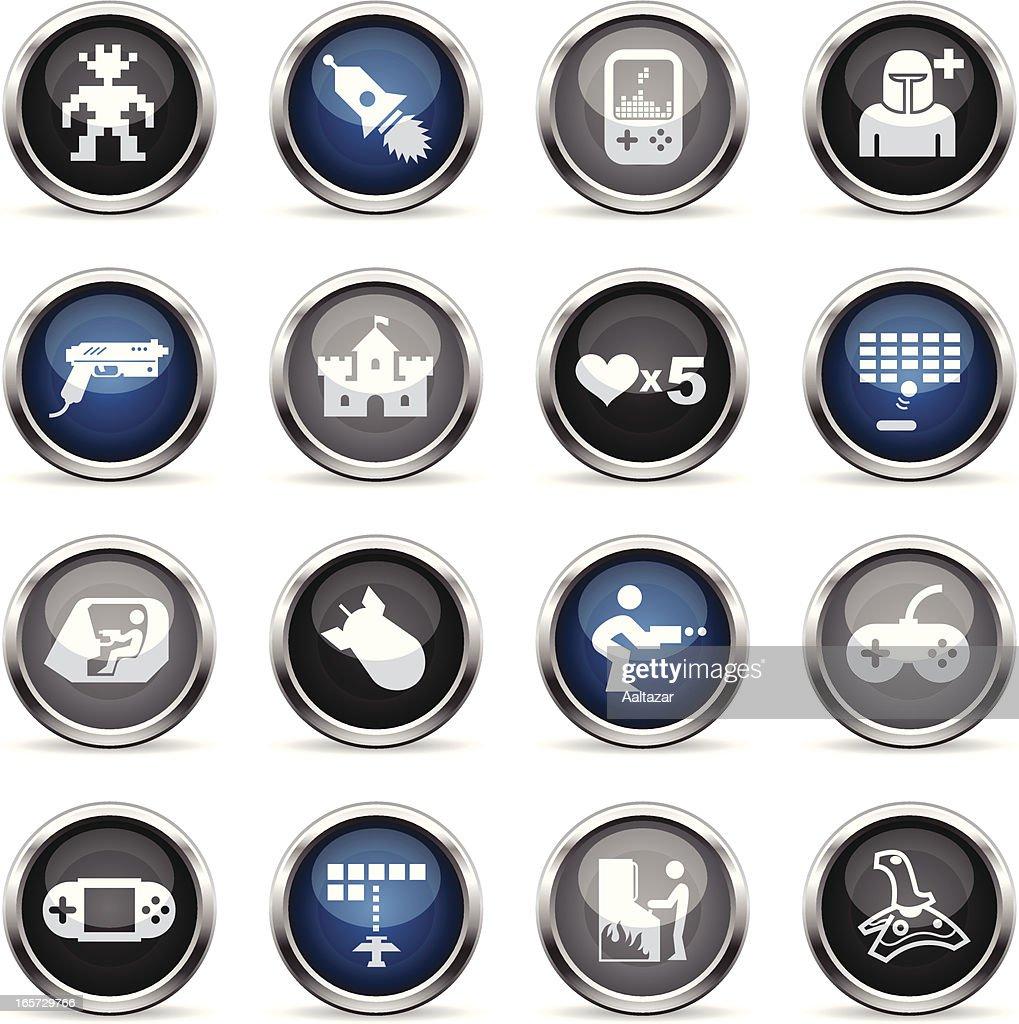 Supergloss Icons - Arcade Gaming