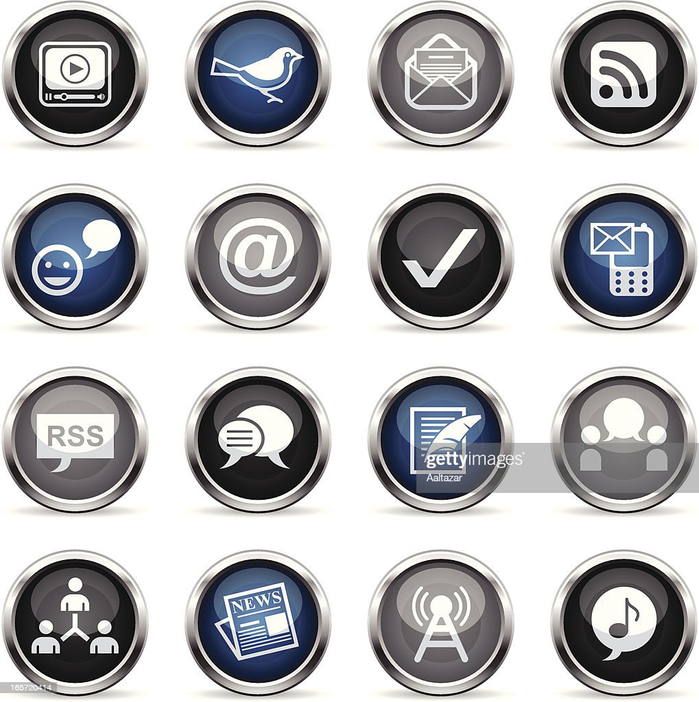 Supergloss Icons - Blogging