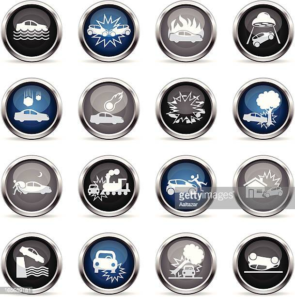 Supergloss Icons - Car Disaster