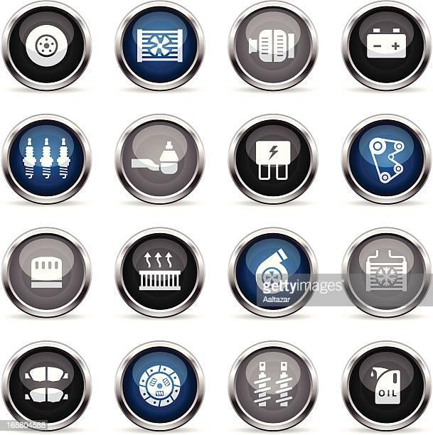 Supergloss Icons - Car Maintenance