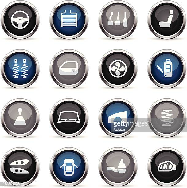 Supergloss Icons - Car Parts