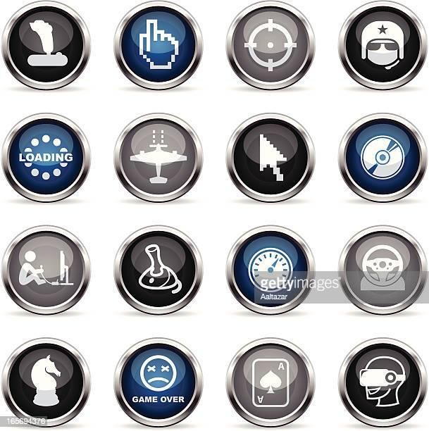 Supergloss Icons - Computer Gaming