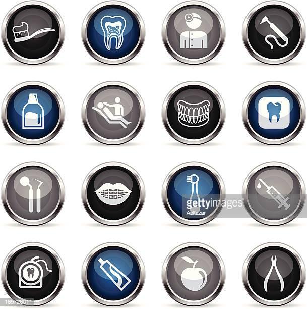 Supergloss iconos de cuidado Dental