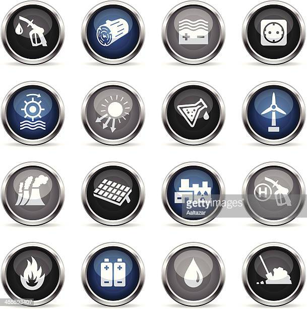 Supergloss Icons - Energy Sources