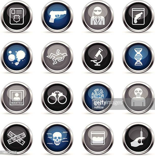 Supergloss Icons - FBI & Forensics