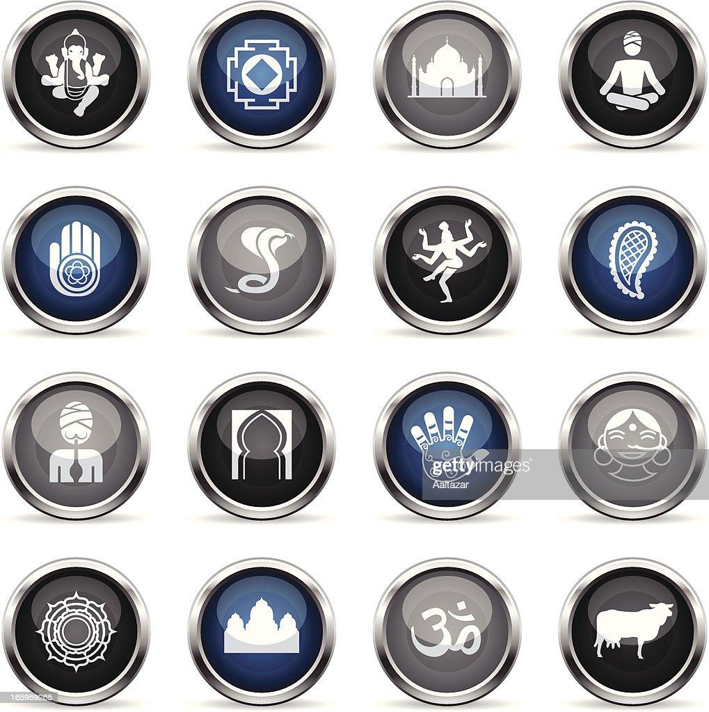 Supergloss Icons - India