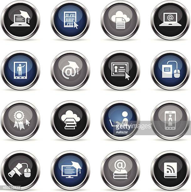 Supergloss Icons - Online Education