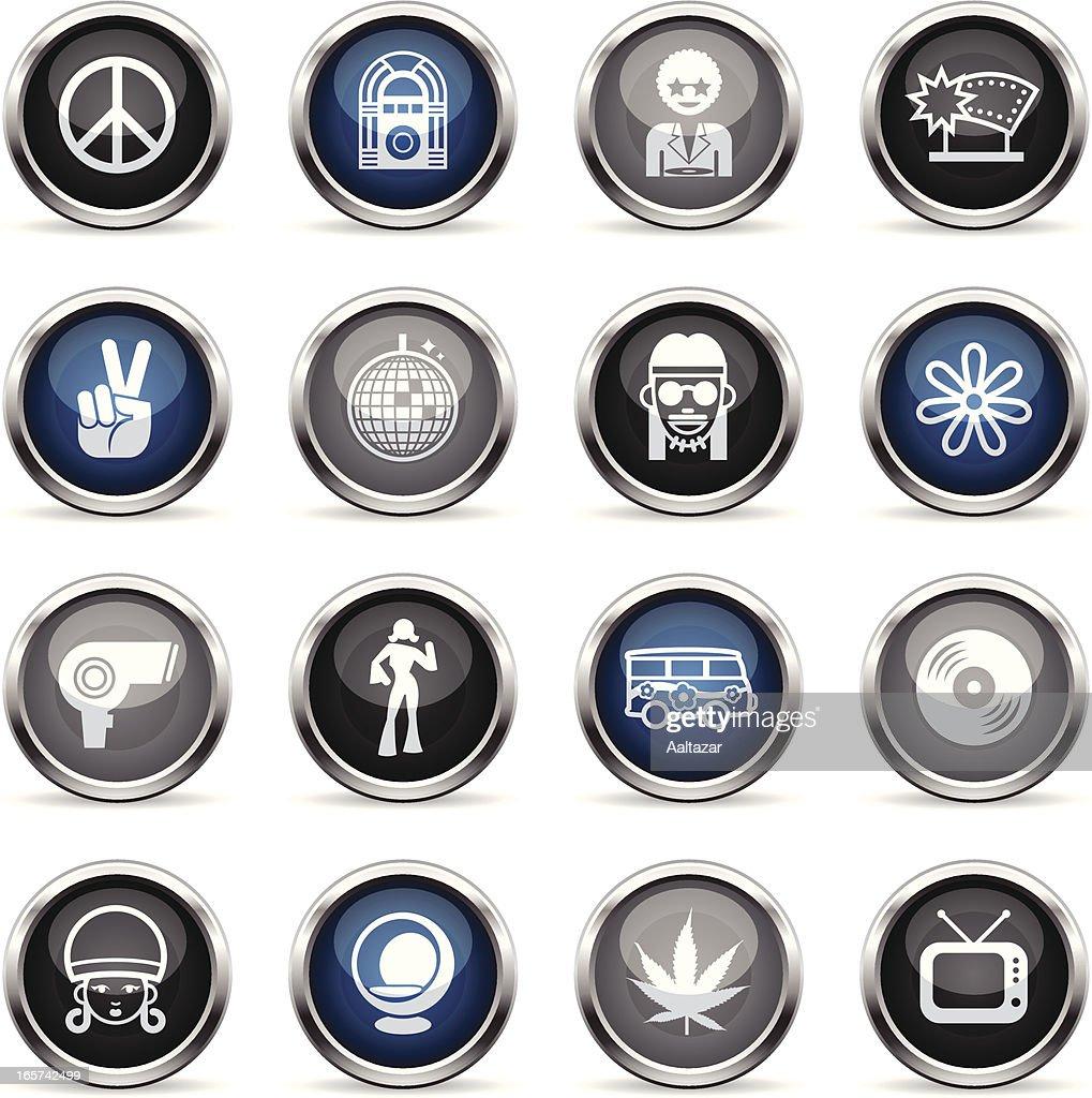 Supergloss Icons - Retro