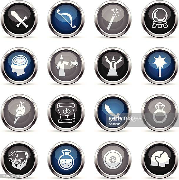 Supergloss Icons - Role Playing Games