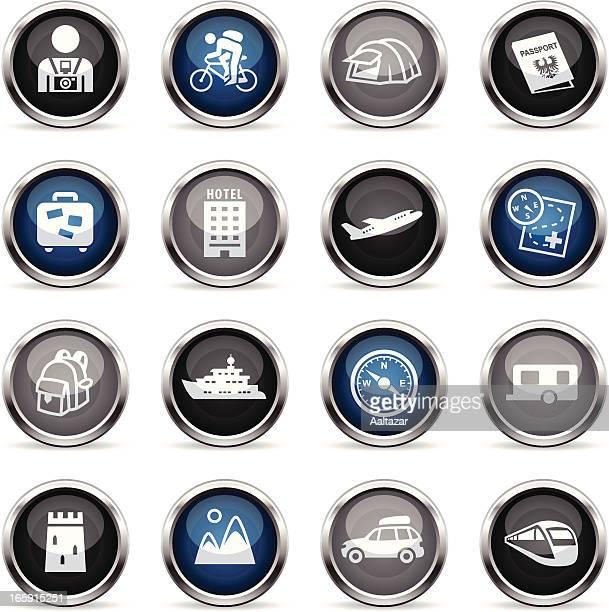 Supergloss Icons - Tourism