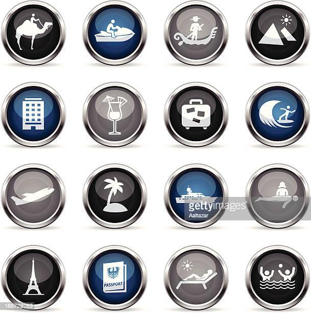 Supergloss Icons - Vacation