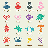 superhero elements