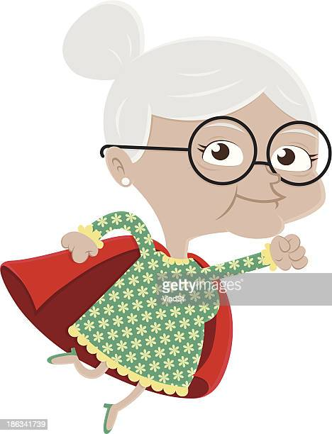 Superhero grandma