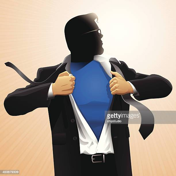 Superhero Open Shirt